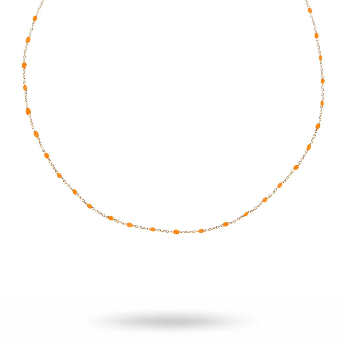 beaded-neck-orange-gold