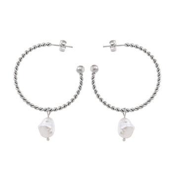 Ingnell Jewellery – Theodora Örhängen, silver