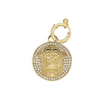Dyrberg/Kern - Protection berlock, guld