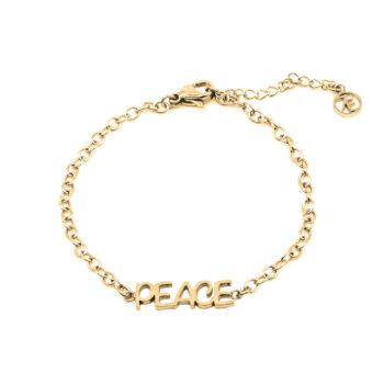 Seven/East - Inner Peace Vertical Halsband, guld