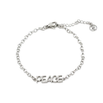 Seven/East – Inner Peace Armband, silver