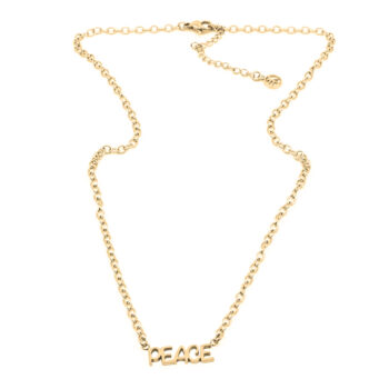 Seven/East – Inner Peace Halsband, guld