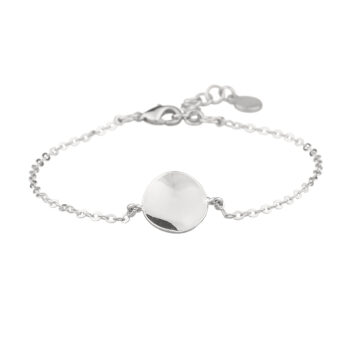 Snö of Sweden – Phoebe small chain armband, silver