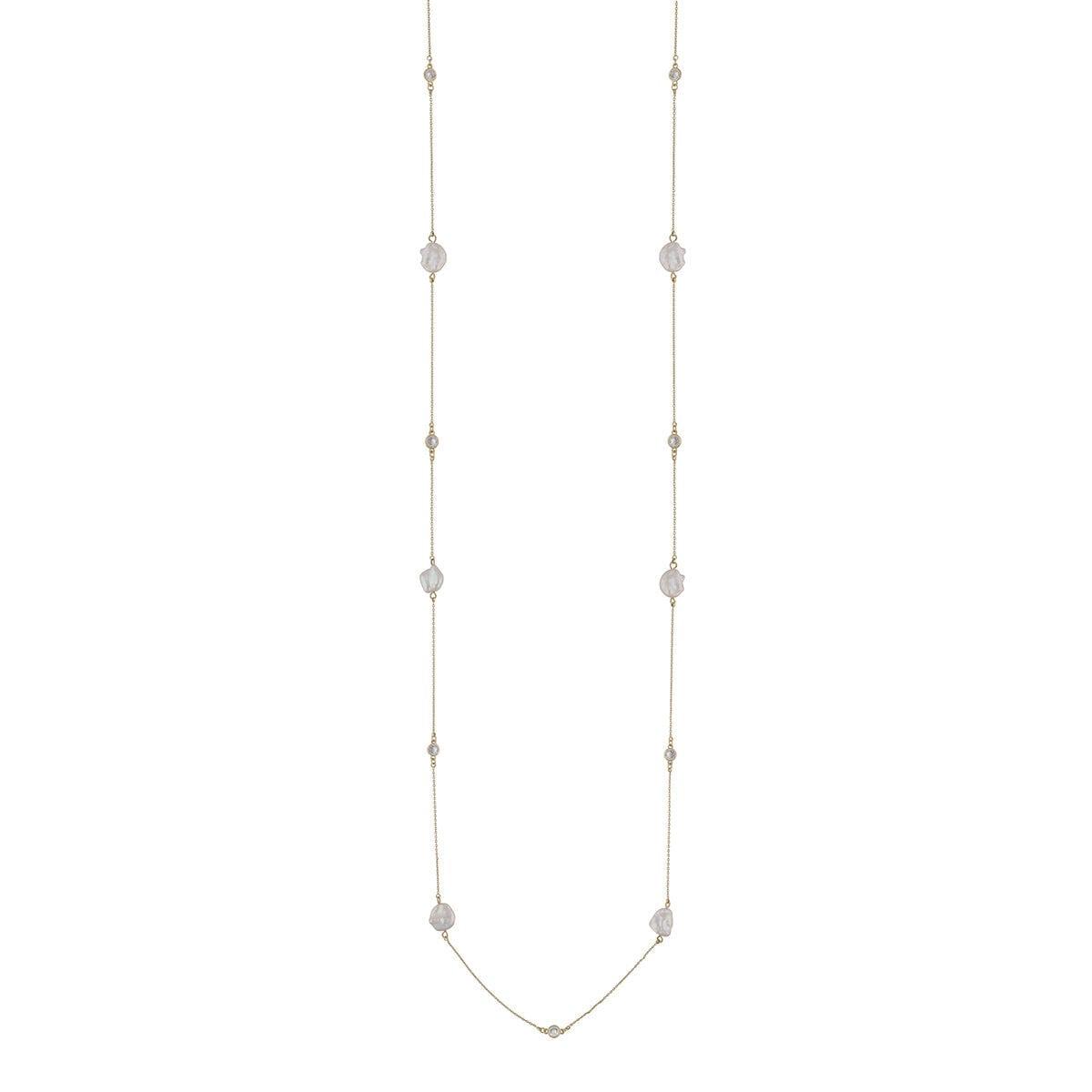 1007-1313362-Shape-pearl-chain-neck-100-g-white