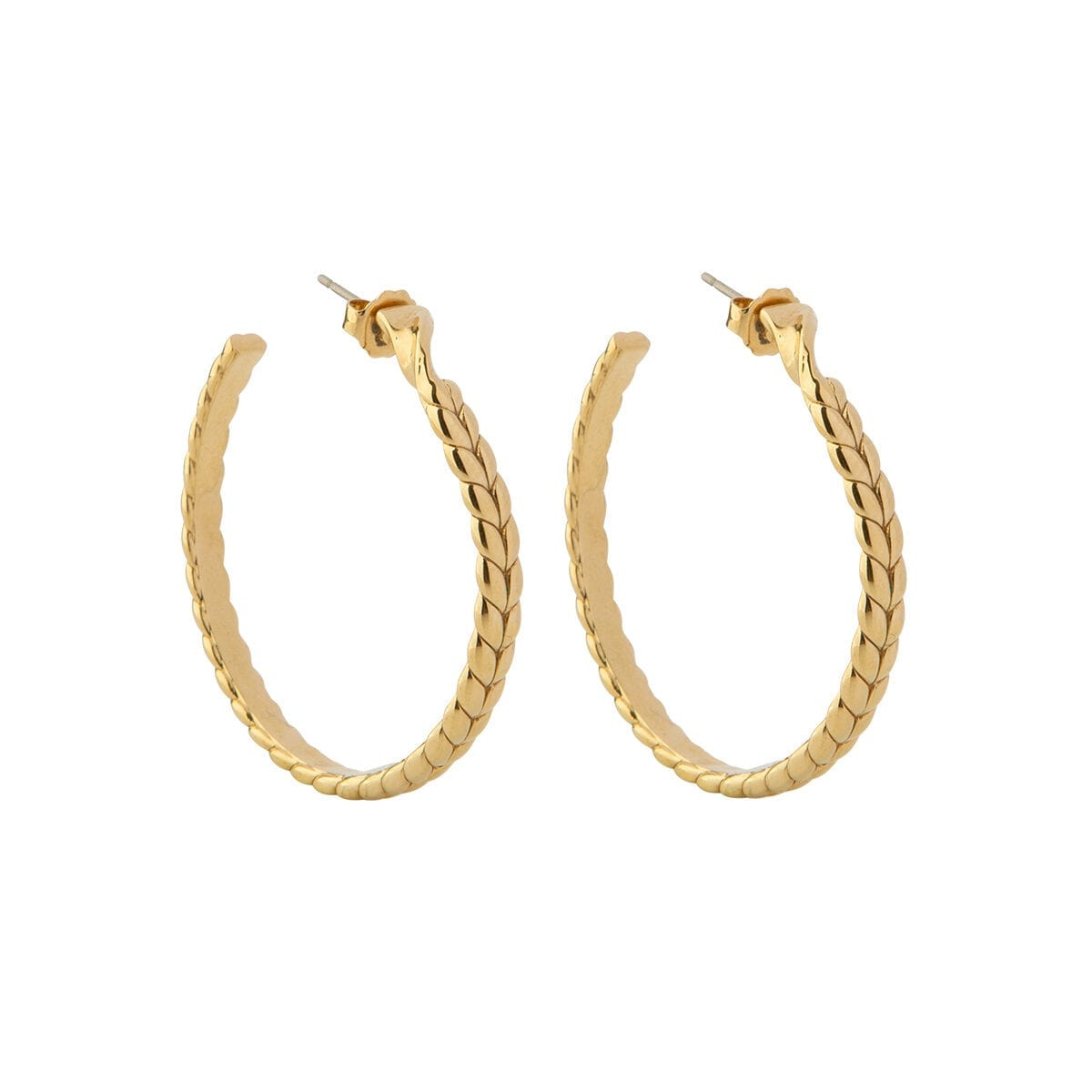 Braided-hoops-gold