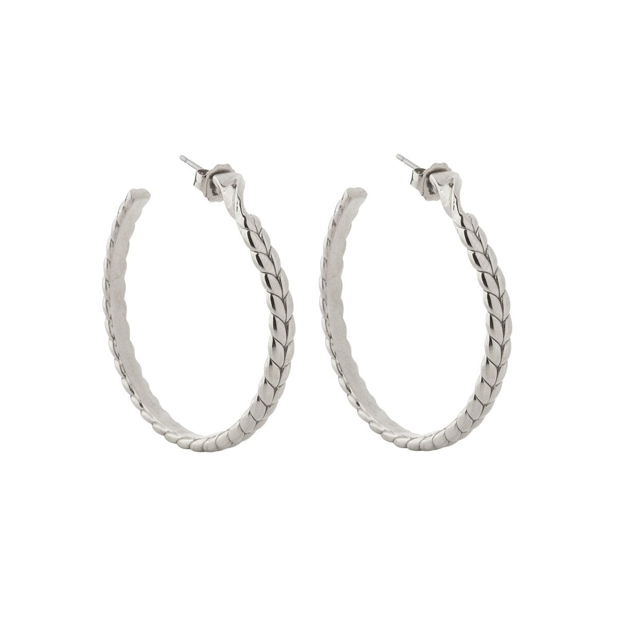 Braided-hoops-silver