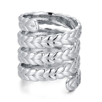 La Maison Bagatelle – Braided ring, silver