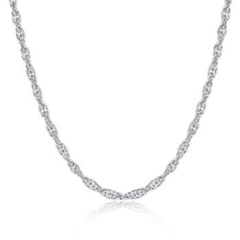 La Maison Bagatelle – River Chain långt halsband, silver