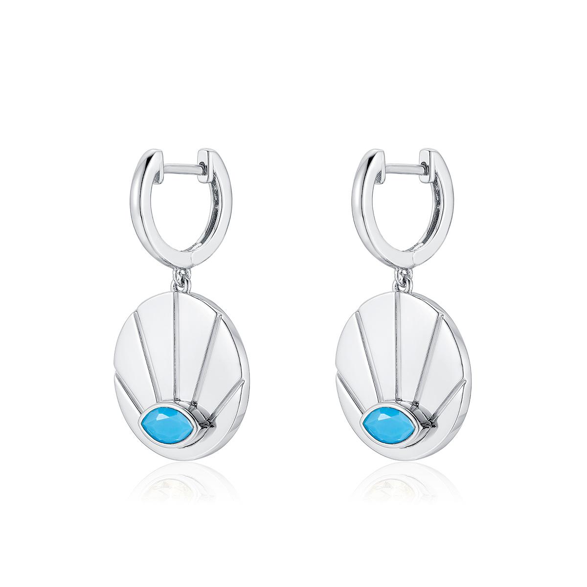 Sunrise-earrings-silver