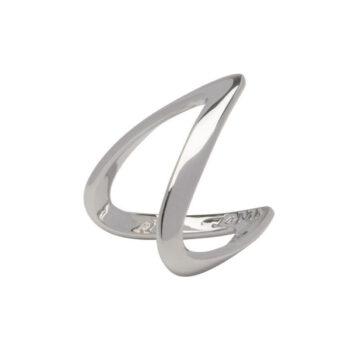 La Maison Bagatelle – Wave ring, silver
