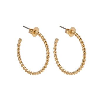 La Maison Bagatelle – Wire örhängen, guld