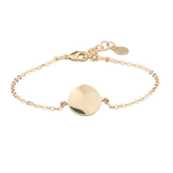 Snö of Sweden - Phoebe small chain armband, guld
