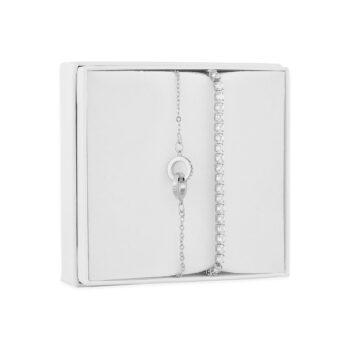 Snö of Sweden - Smyckeset Armband, guld/kristall