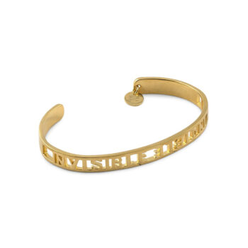 Syster P – Invisible Invincible Armband guld