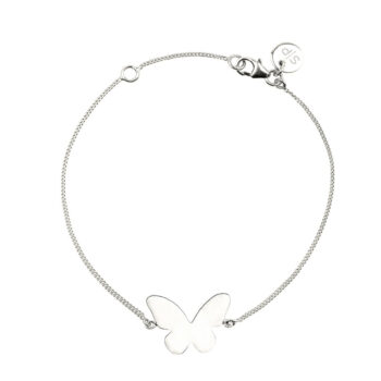Syster P – Butterfly Love Armband silver