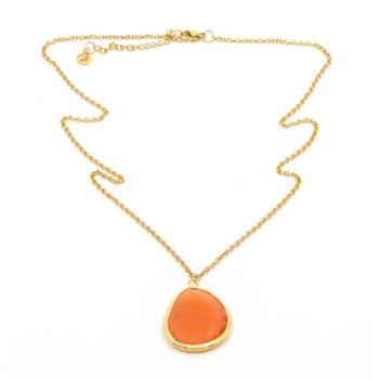 Seven East - Omikron Halsband, Orange